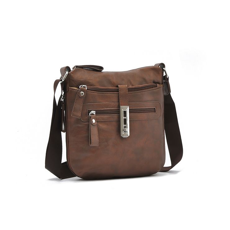 CHENSON Women Flap Shoulder CrossBody Messenger Bag Purse Mail Bag