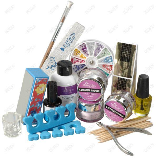 13in1 PRO Acrylic Powder Nail Art Kit For DIY Creation