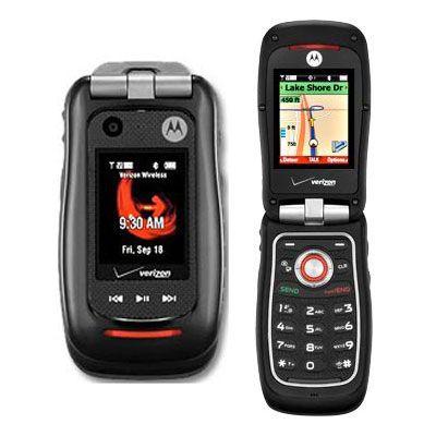 VERIZON MOTOROLA BARRAGE V860 WATERPROOF GPS CELL PHONE 0723755811591