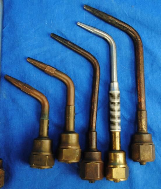Victor Welding Torch 315 & 315C Body Rosebud & Tips Tools