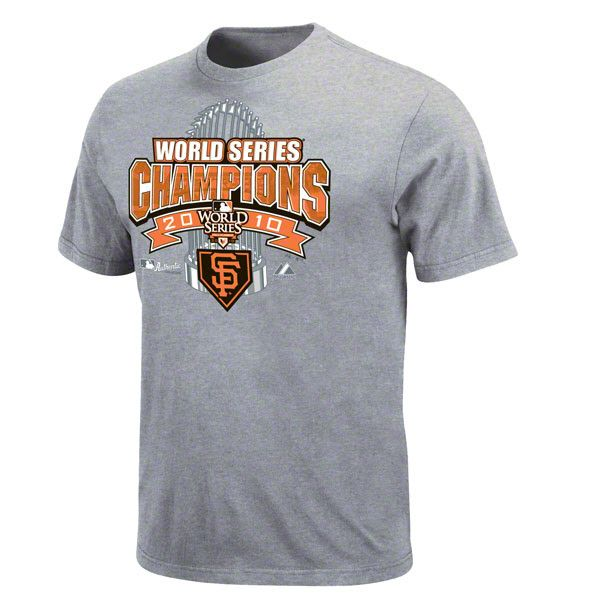 San Francisco Giants 2010 World Series Champions Locker Room T Shirt