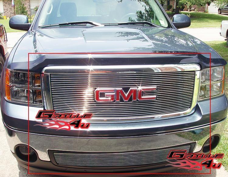 07 12 2011 2012 GMC Sierra 1500/Sierra Denali Billet Grille Grill
