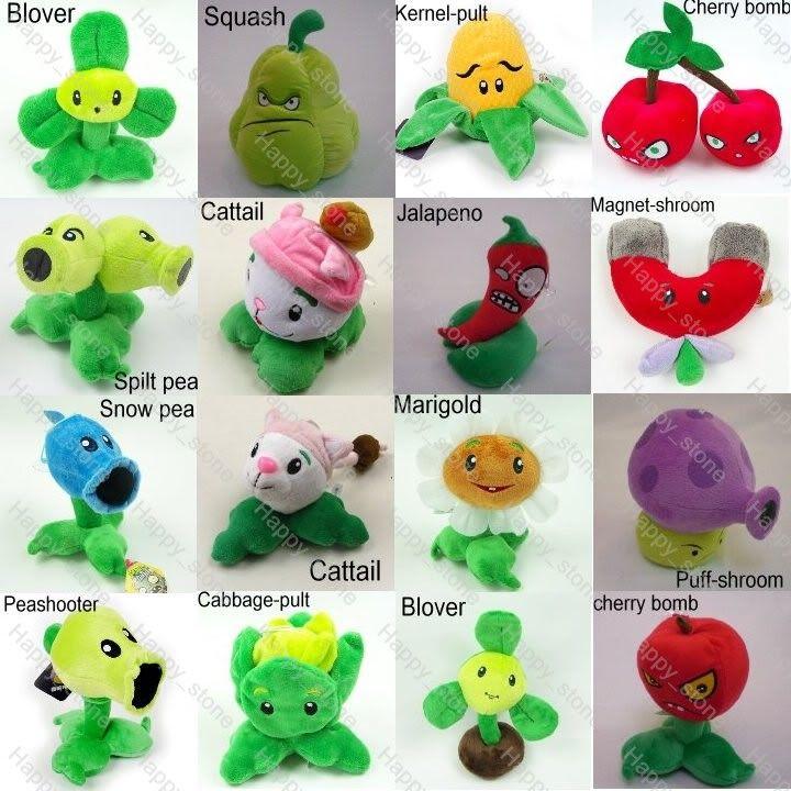 Plants Vs Zombies Gargantuar zombie 12 soft toy