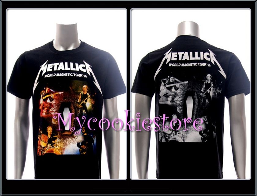 Sz M METALLICA T shirt Heavy Metal Rock Rider Skull Men