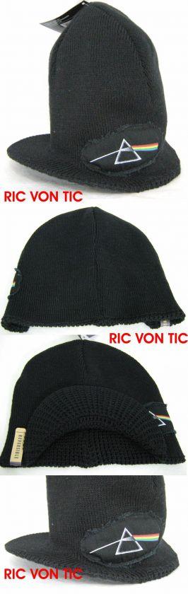 New PINK FLOYD Dark Side Moon Knit Beanie Cap Skate Hat