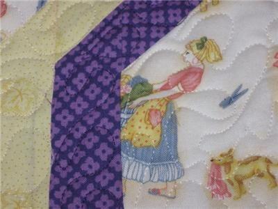 Handmade Table Runner Topper summer mom laundry vintage